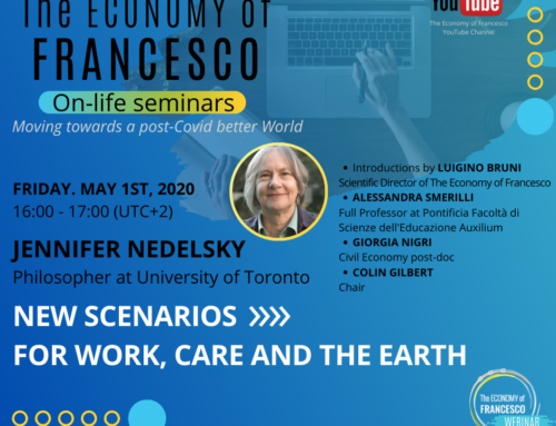 New Scenarios for Work, Care and the Earth – J. Nedelsky