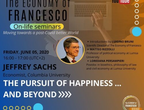 The pursuit of happiness … and beyond – J. Sachs