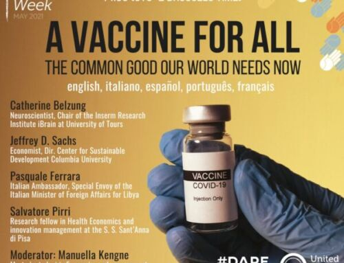 A vaccine for all. The Common Good our world needs now