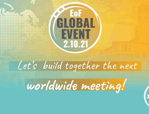 October 2: LET'S BUILD TOGETHER THE NEXT WORLDWIDE MEETING!